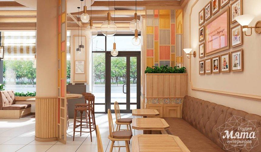 Дизайн интерьера пекарни Сдобная Сказка 6