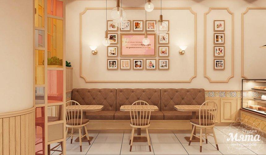 Дизайн интерьера пекарни Сдобная Сказка 7