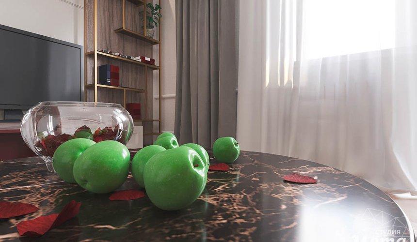 Дизайн интерьера однокомнатной квартиры по ул. Металлургов 14 3