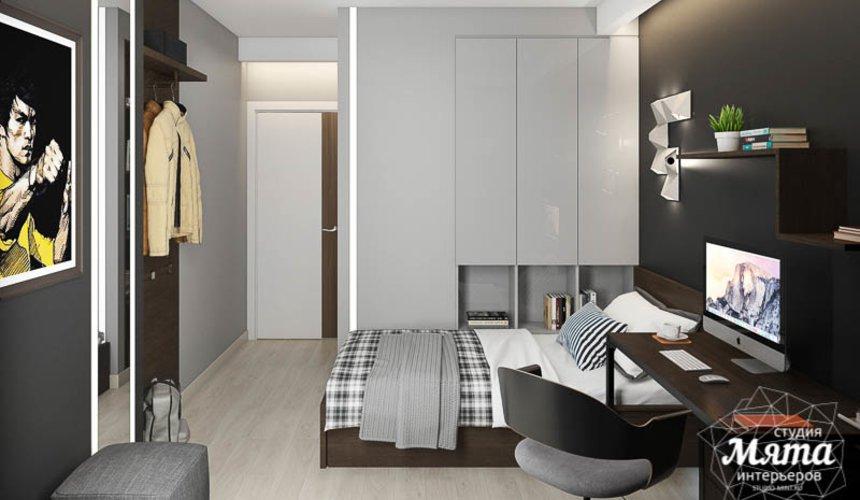 Дизайн интерьера двухкомнатной квартиры в ЖК Первый Николаевский 8