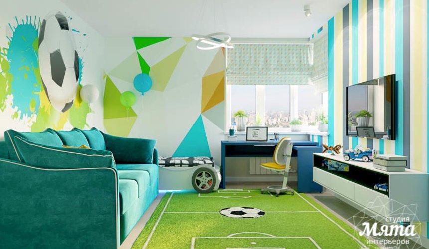 Дизайн интерьера четырехкомнатной квартиры по ул. Блюхера 41 23