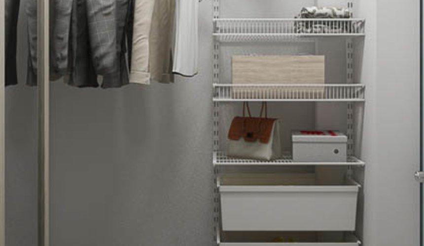 Дизайн интерьера двухкомнатной квартиры в ЖК Первый Николаевский 26