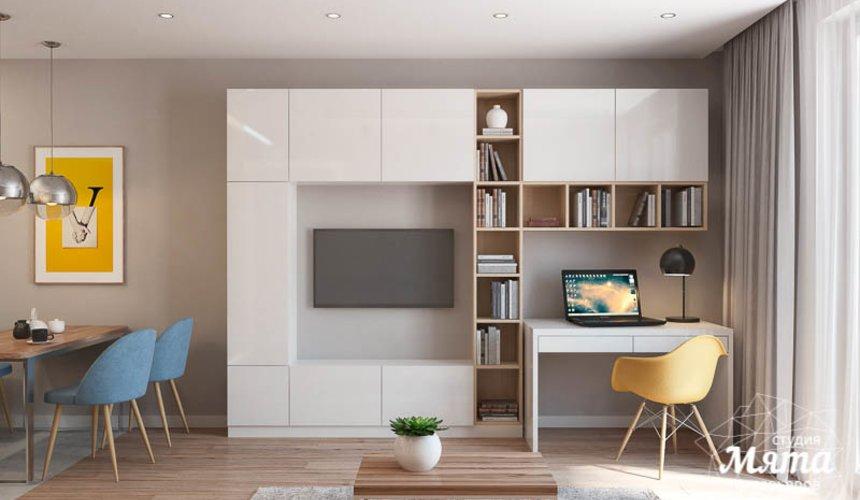 Дизайн интерьера двухкомнатной квартиры в ЖК Солнечный 6
