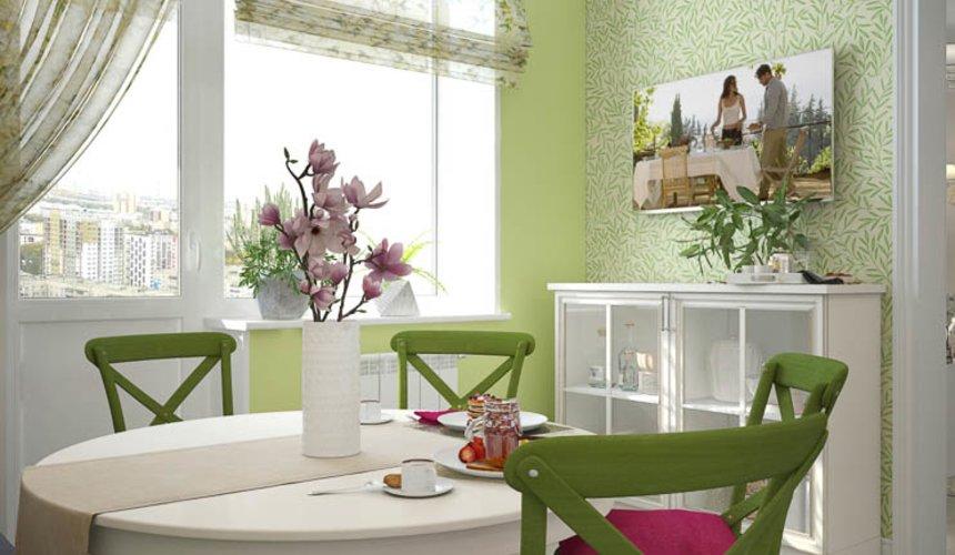 Дизайн интерьера четырехкомнатной квартиры по ул. Блюхера 41 11