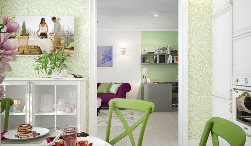 Дизайн интерьера четырехкомнатной квартиры по ул. Блюхера 41 13