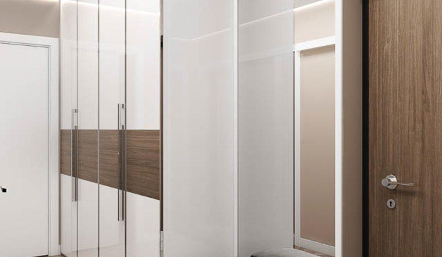 Дизайн интерьера двухкомнатной квартиры в ЖК Первый Николаевский 12