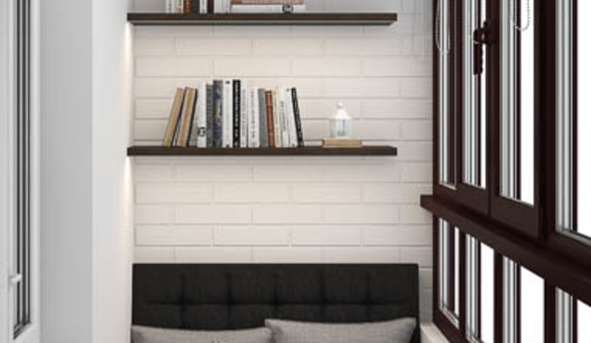 Дизайн интерьера двухкомнатной квартиры в ЖК Первый Николаевский 14