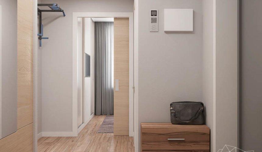 Дизайн интерьера двухкомнатной квартиры в ЖК Солнечный 10