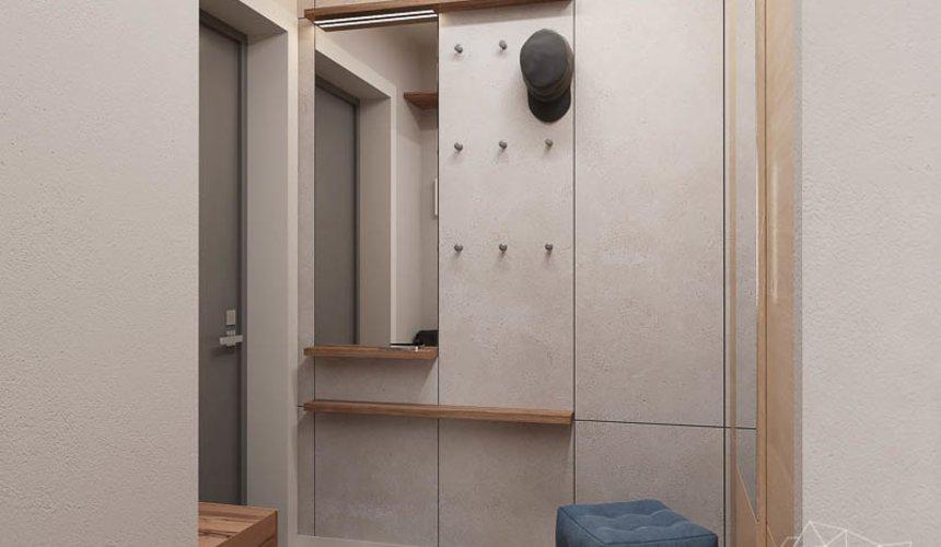 Дизайн интерьера двухкомнатной квартиры в ЖК Солнечный 11
