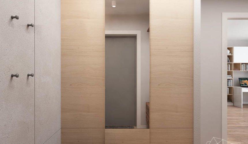 Дизайн интерьера двухкомнатной квартиры в ЖК Солнечный 12