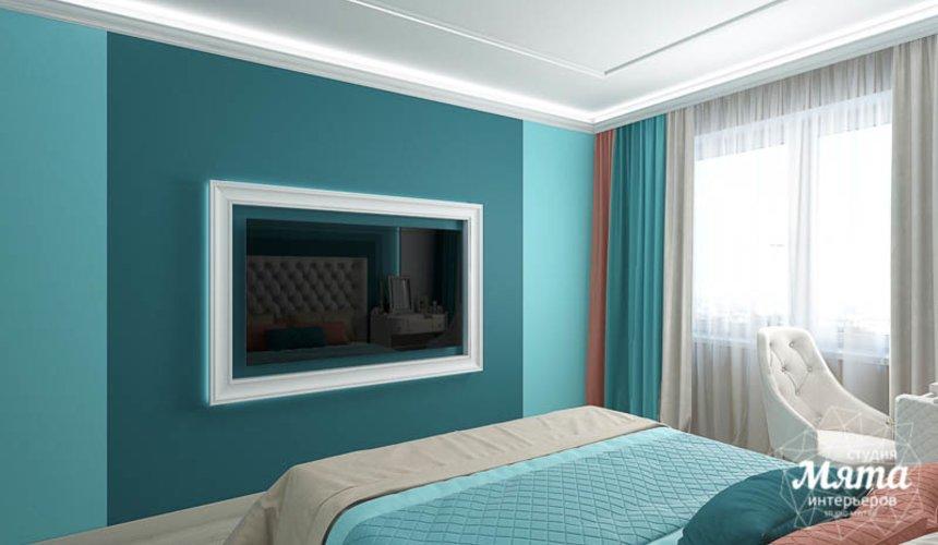 Дизайн интерьера двухкомнатной квартиры в ЖК Первый Николаевский 19