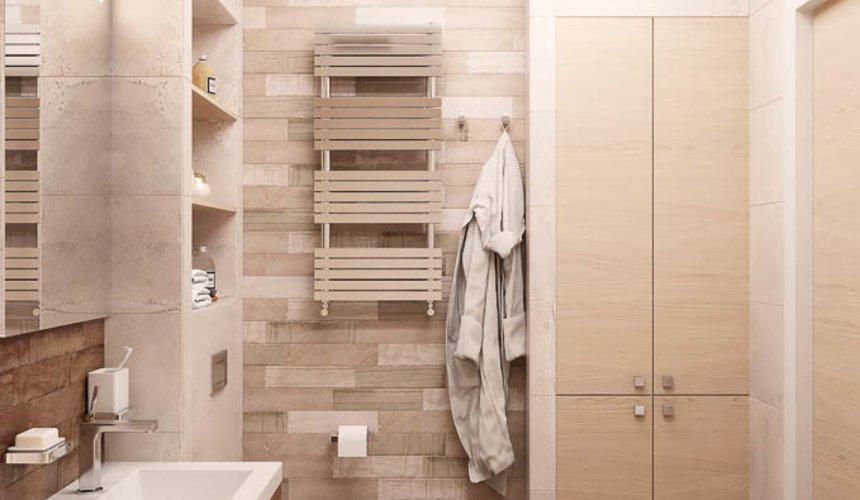 Дизайн интерьера двухкомнатной квартиры в ЖК Солнечный 16