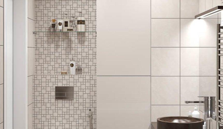 Дизайн интерьера двухкомнатной квартиры в ЖК Первый Николаевский 20