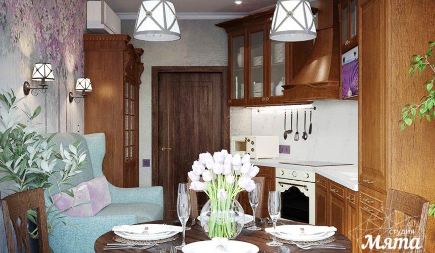 Дизайн интерьера кухни в коттедже п. Верхнее Дуброво 6