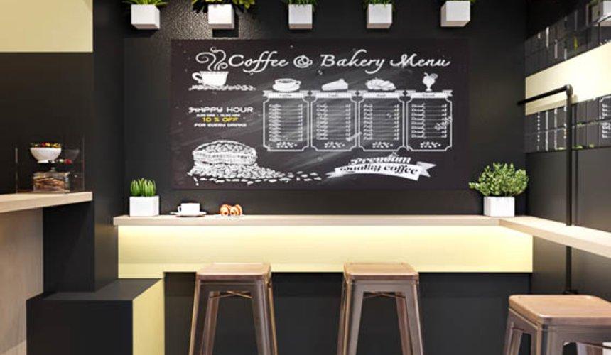 Дизайн интерьера мини-кофейни по ул. Большакова 107 6