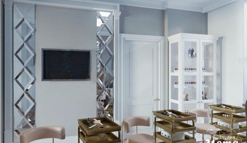 Дизайн интерьера и ремонт салона красоты в ЖК Флагман 30