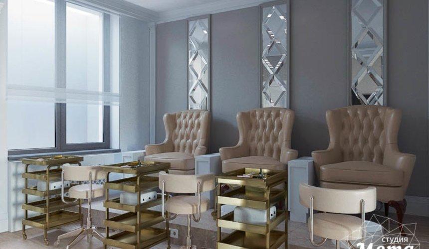 Дизайн интерьера и ремонт салона красоты в ЖК Флагман 31