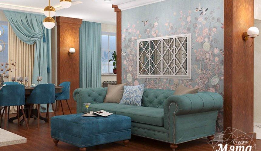 Дизайн интерьера квартиры в стиле современной классики в ЖК Вивальди 5