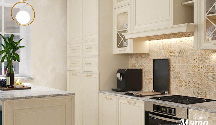 Дизайн интерьера квартиры в стиле современной классики в ЖК Вивальди 10