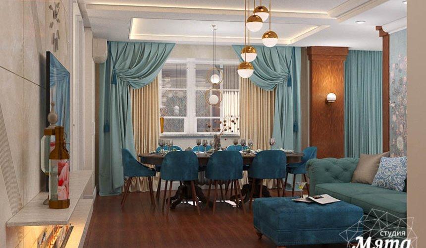 Дизайн интерьера квартиры в стиле современной классики в ЖК Вивальди 7