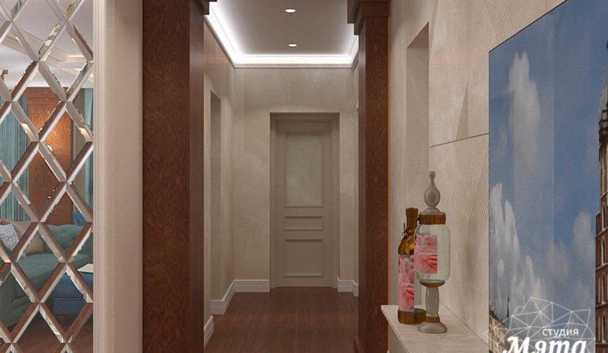 Дизайн интерьера квартиры в стиле современной классики в ЖК Вивальди 15
