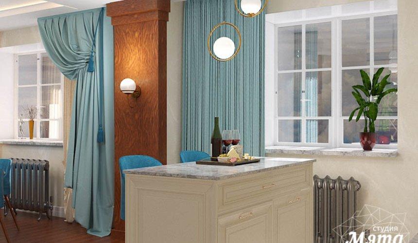 Дизайн интерьера квартиры в стиле современной классики в ЖК Вивальди 9