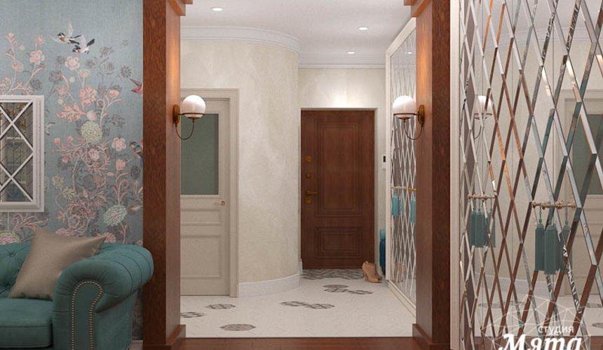 Дизайн интерьера квартиры в стиле современной классики в ЖК Вивальди 16