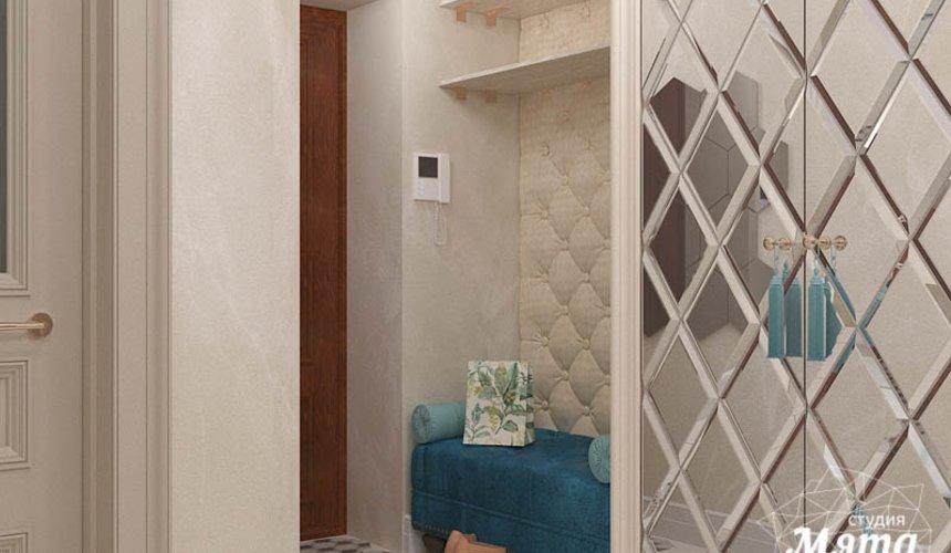 Дизайн интерьера квартиры в стиле современной классики в ЖК Вивальди 17