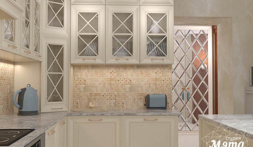 Дизайн интерьера квартиры в стиле современной классики в ЖК Вивальди 13