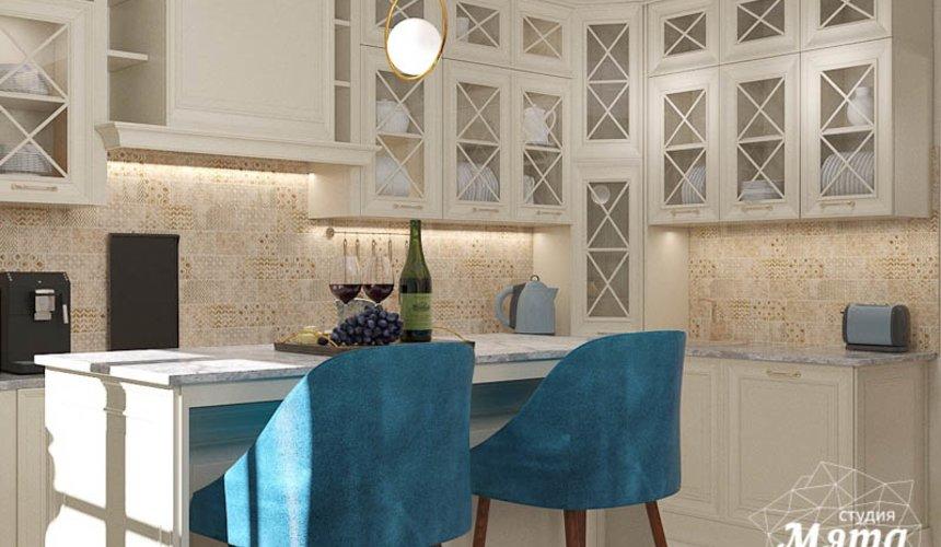 Дизайн интерьера квартиры в стиле современной классики в ЖК Вивальди 14