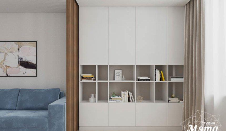 Дизайн интерьера трехкомнатной квартиры в ЖК Дом у пруда ... 4