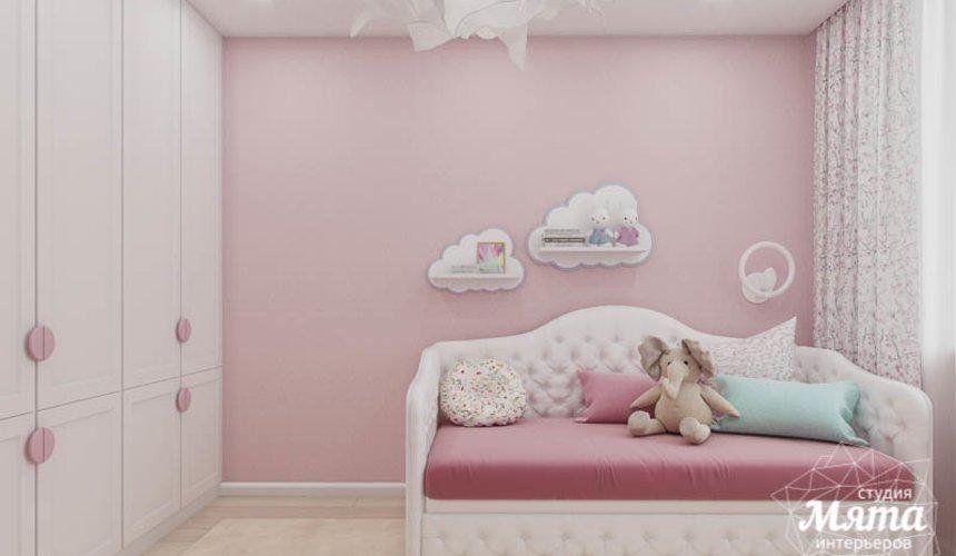 Дизайн интерьера трехкомнатной квартиры в ЖК Дом у пруда ... 22
