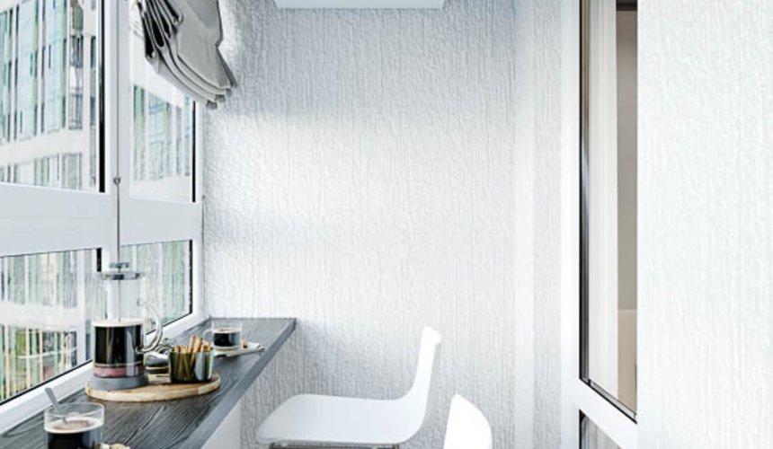 Дизайн интерьера однокомнатной квартиры в ЖК Оазис 31