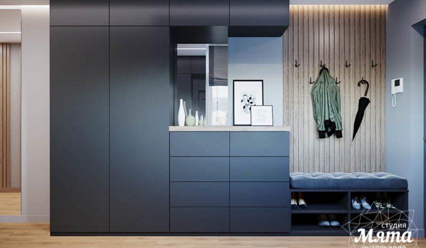 Дизайн интерьера однокомнатной квартиры в ЖК Оазис 13