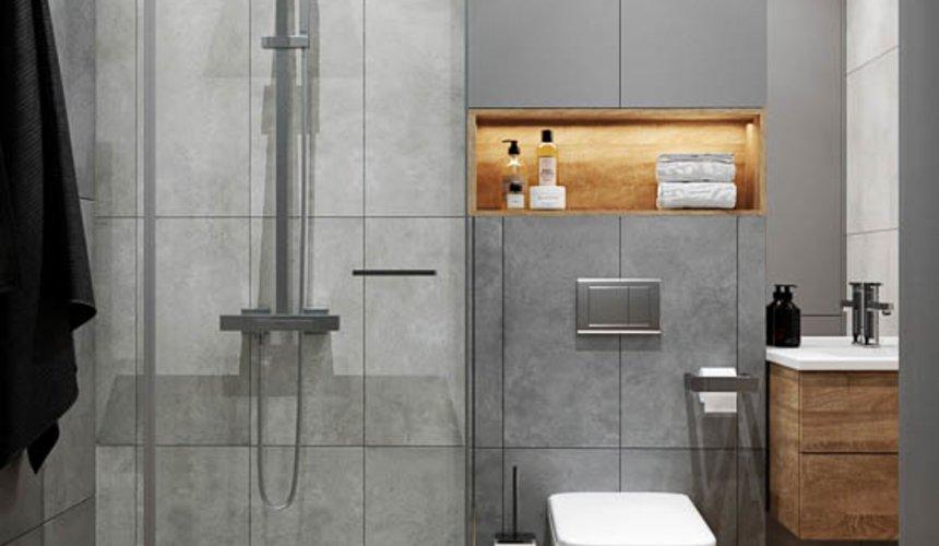 Дизайн интерьера однокомнатной квартиры в ЖК Оазис 36