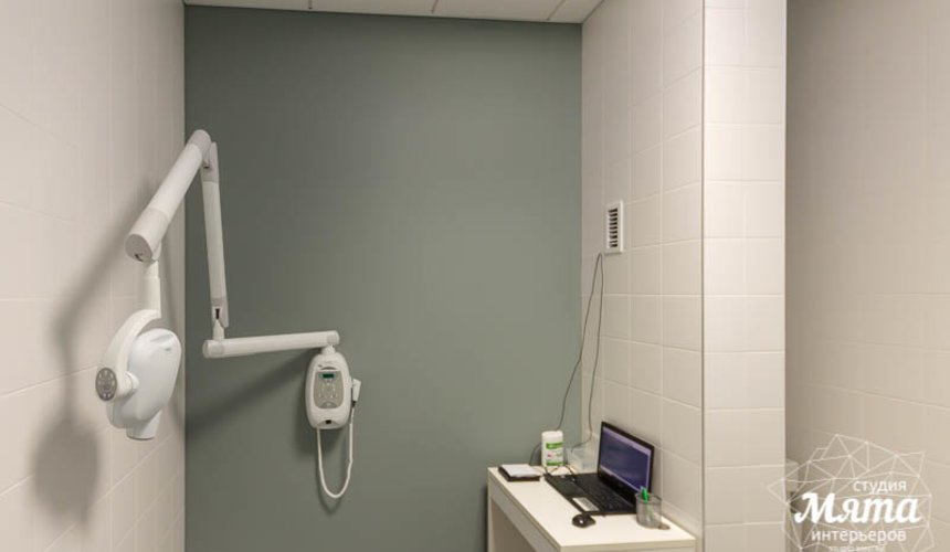 Дизайн интерьера и ремонт стоматологической клиники в ЖК Лига Чемпионов 19