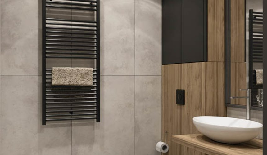 Дизайн интерьера двухкомнатной квартиры в ЖК Репин Парк 15