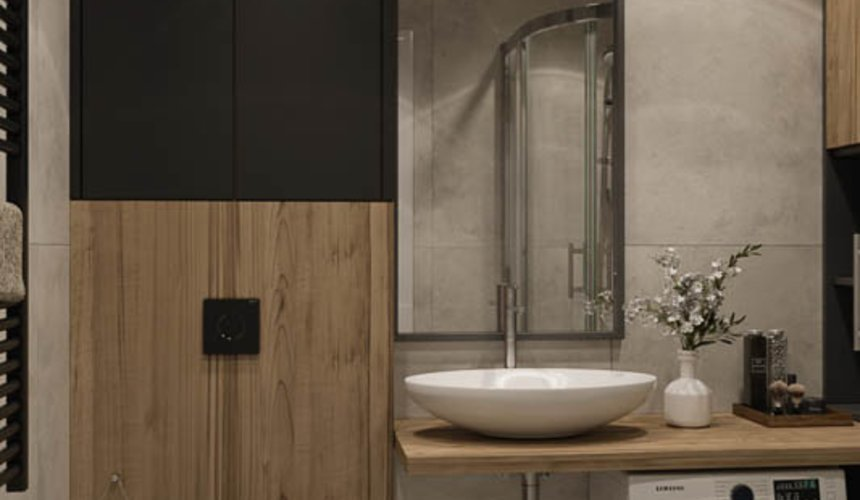 Дизайн интерьера двухкомнатной квартиры в ЖК Репин Парк 17