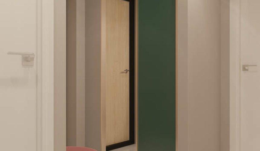 Дизайн интерьера двухкомнатной квартиры в ЖК Репин Парк 20