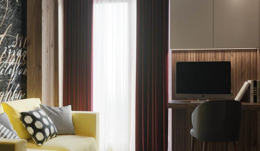 Дизайн интерьера двухкомнатной квартиры в ЖК Репин Парк 11