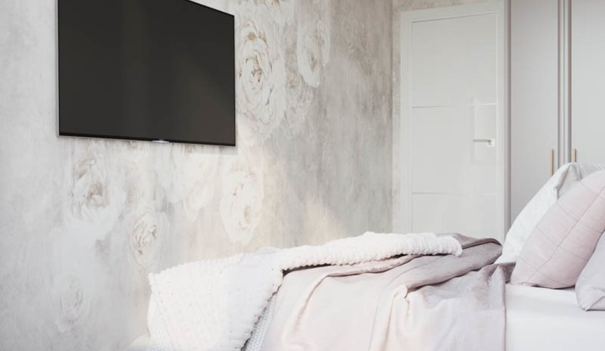 Дизайн интерьера двухкомнатной квартиры в ЖК Репин Парк 14