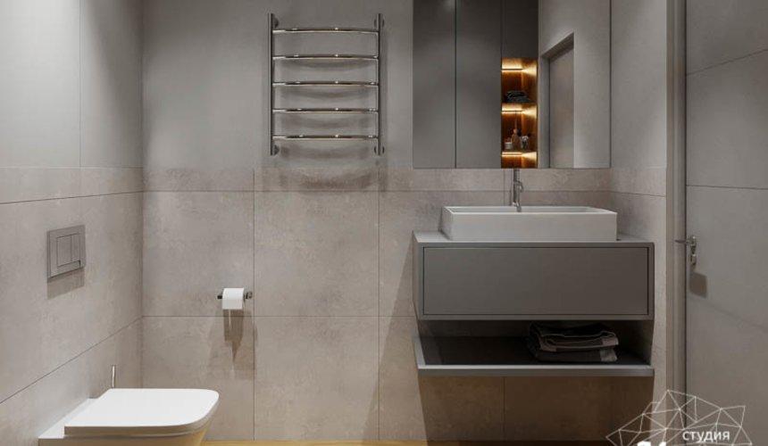 Дизайн интерьера квартиры - студии в ЖК Стрелки 5